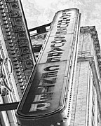 Theater District Prints - Playhouse Square Cleveland Print by Kenneth Krolikowski