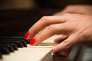 Classic Audio Player Photos - Playing the piano by Dutourdumonde Photography