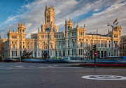 Neo-classical Framed Prints - Plaza de Cibeles Framed Print by Jennifer Grover
