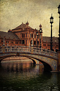 Symmetry Art - Plaza de Espana 5. Seville by Jenny Rainbow