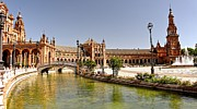 Jennifer Wheatley Wolf - Plaza de Espana Seville...