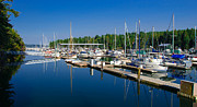 Pleasant Harbor Print by Mark Bowmer