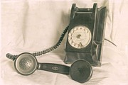 Vintage Telephone Photos - Please call by Georgia Fowler