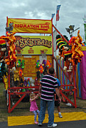 Local Fairs Prints - Please Daddy Please Print by Skip Willits