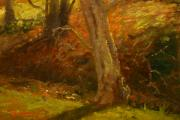 Terry Perham - Plein Air Winter Trunks