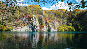 Plitvice Lakes National Park Posters - Plitvice Lake View Poster by David Waldo