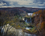  Large Format Prints - Plitvice Lakes-Fairyland-Veliki Prstavac Print by Rade Jug