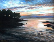 Eileen Patten Oliver - Plum Cove Summer Sunset