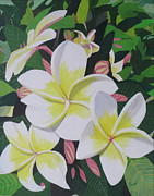 Hilda and Jose Garrancho - Plumeria- Aztec Gold