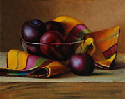 Chiaroscuro Originals - Plums and Stripes by Dan Petrov