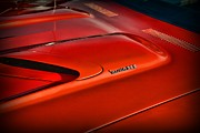 Scowl Prints - Plymouth Barracuda 383 Print by Paul Ward