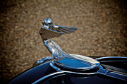 Radiator Cap Photos - Plymouth Flying Lady by Odd Jeppesen