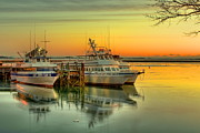 Plymouth Harbor Prints - Plymouth Harbor Print by Jack Costello