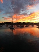 Plymouth Harbor Prints - Plymouth Harbor Print by Jeff Herman