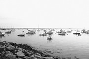 Plymouth Harbor Prints - Plymouth Harbor Print by John Hoey