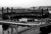 Pnc Framed Prints - PNC Park from Above Framed Print by Paul Scolieri
