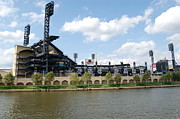 Baseball Stadiums Prints - PNC Park Print by Michael Lynch