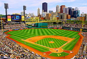 Pittsburgh Pirates Prints - PNC Park Pittsburgh Print by Justin Bittner