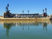 Pnc Park Prints - PNC Park Pittsburgh Print by Mountain Dreams