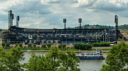 Baseball Stadiums Framed Prints - PNC Park Pittsburgh Pirates Framed Print by Angelo Rolt