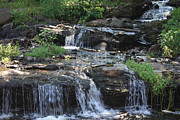 Photogrphy Prints - Poconos Waterfall Stream Print by John Telfer