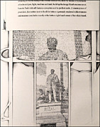 Philippines Drawings - Poems of Rizal 1966 to 67 by Glenn Bautista