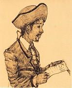 Poet Print by George Harrison