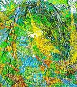 Poet In Greenery Print by Navo Art