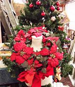 Cindy Nunn - Poinsettia Wreath