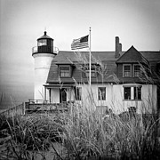 Burton Framed Prints - Point Betsie Lighthouse II Framed Print by Jeff Burton