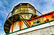 Sausalito Metal Prints - Point Bonita Lighthouse Metal Print by Robert Rus