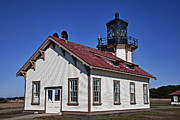Museum Framed Prints - Point Cabrillo Light Station Framed Print by Garry Gay