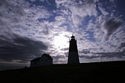 Ri Lighthouse Prints - Point Judith Light Print by Andrea Galiffi