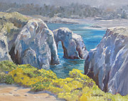 Lori Quarton Art - Point Lobos 1 by Lori Quarton