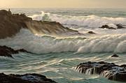Point Lobos Seascape    Print by Paul Krapf