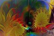 Karin Kuhlmann Art Digital Art - Point of No Return-Abstract Fractal Art by Carlita Cooly