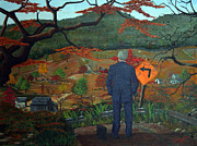 Gravel Road Paintings - Point of View by Cecil Williams