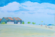 New Jersey Painting Originals - Point Pleasant Beach by Nicholas Stecher