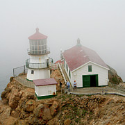 Decaying Prints - Point Reyes Lighthouse Print by Art Blocks