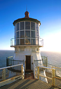 Uscg Prints - Point Reyes Lighthouse California Print by Jerry McElroy