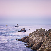 Dawn Prints - Pointe du Raz Brittany France at Dawn Print by Colin and Linda McKie
