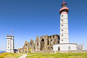 Ruin Photos - Pointe Saint-Mathieu Britanny France by Colin and Linda McKie