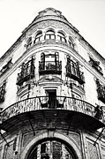 Neo-classical Posters - Pointed Neo-Classical Building Facade in Seville Spain Poster by Angela Bonilla