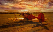 Single-engine Framed Prints - Poised Framed Print by Jason Green