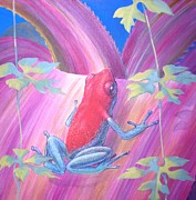 Awesome Originals - Poison  dart frog   by Bonnie Golden
