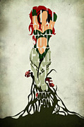 Super Hero Metal Prints - Poison Ivy Metal Print by Ayse Toyran