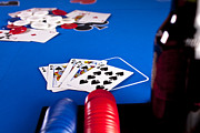 Pam Moore - Poker Game Royal Flush
