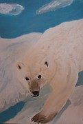 Michele Turney - Polar Bear on Ice