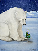 Polar Prayer... Print by Will Bullas