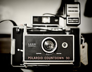 Polaroid Camera Framed Prints - Polaroid Countdown 90 Framed Print by Heather Applegate